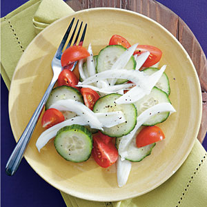 Tomato, Cucumber, and Fennel Salad