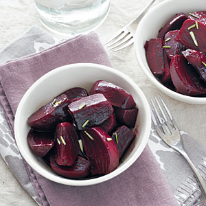 Slow Juicer Beets : Lemon-Rosemary Beets - 100+ Slow Cooker Favorites - Cooking Light