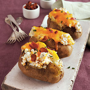 Loaded Twice-Baked Potato