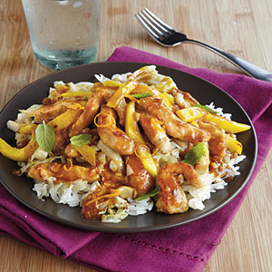 Pork and Mango Stir-Fry