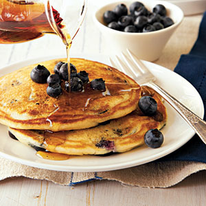 Blueberry Buttermilk Pancakes - Use It Up Challenge ...
