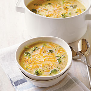 Broccoli-Cheddar Soup