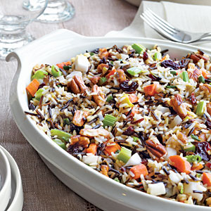 Wild Rice Stuffing with Dried Cherries & Toasted Pecans