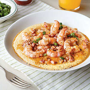 Cajun-Style Shrimp and Grits