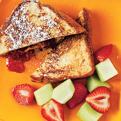 French Toast Peanut Butter and Jelly