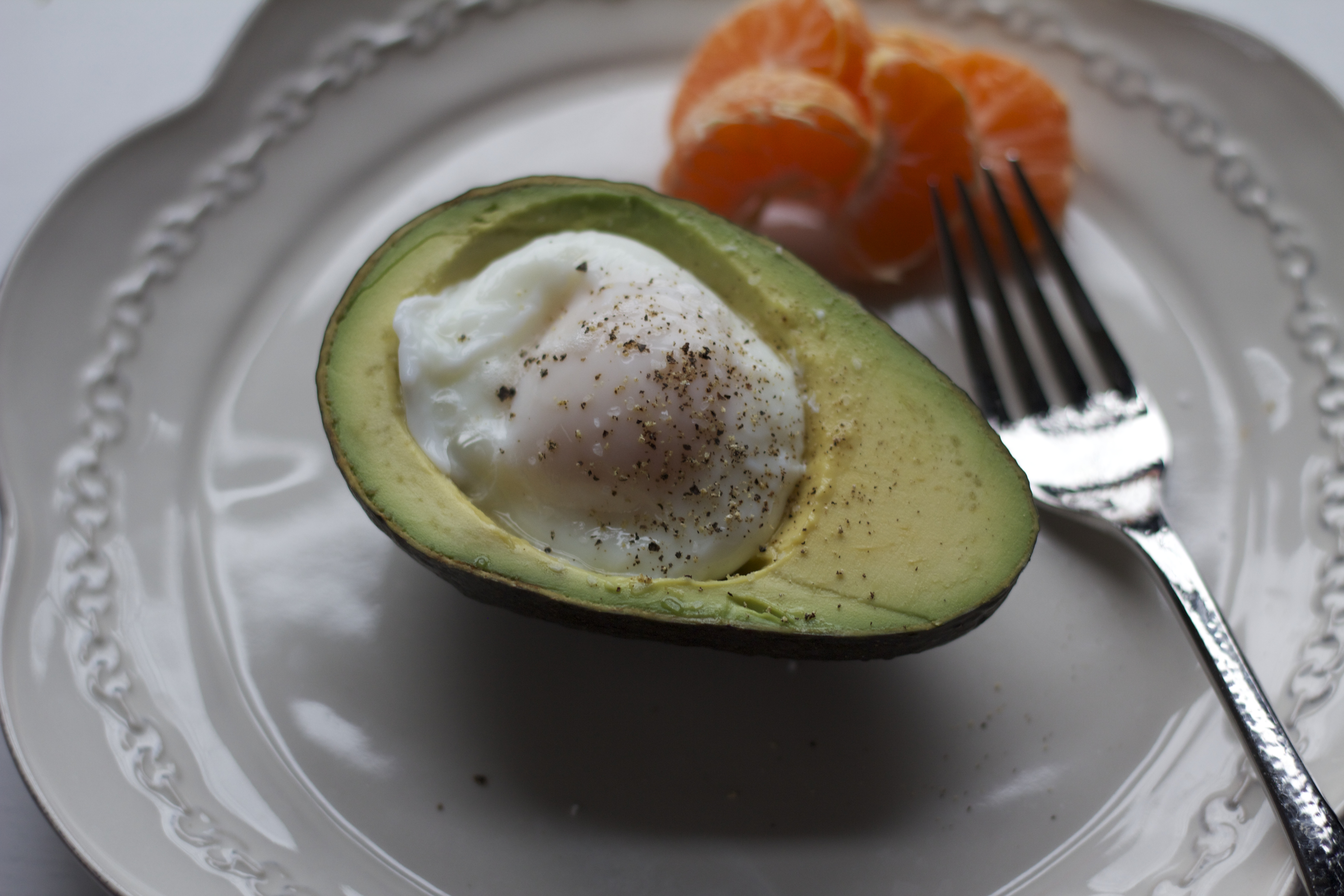 ... egg in an avocado i personally would rather either have eggs with