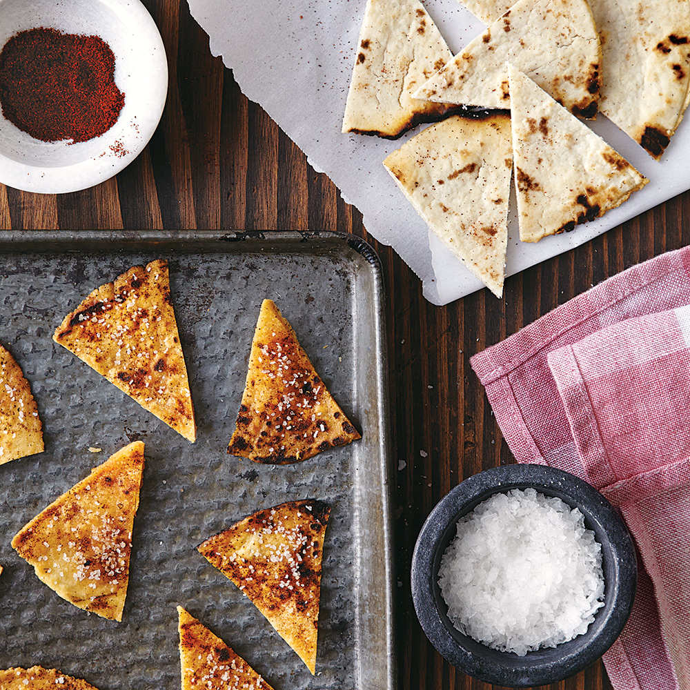 Homemade Chipotle Tortilla Chips
