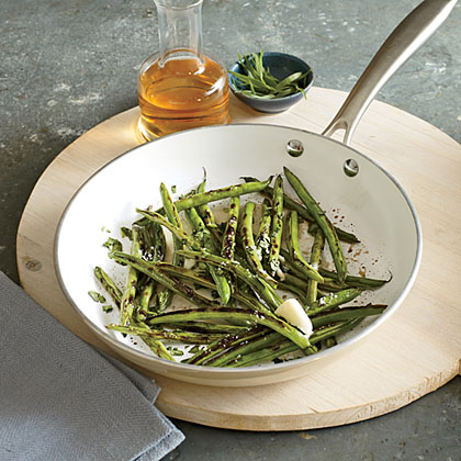 You won't believe how good these green beans are--and they take only 11 minutes.