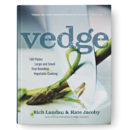 VedgeBy Rich Landau and Kate Jacoby, The Experiment, $25A gazillion vegan books were published this year, but this one, from the chefs at our favorite Philadelphia restaurant, features breakthrough techniques and flavors for anyone who loves to eat plants year-round.