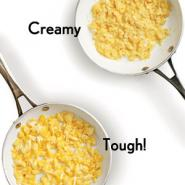 Your Scrambled Eggs Turn Rubbery