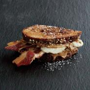 banana bacon sandwich snack recipe