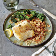 Lemon-Browned Butter Cod