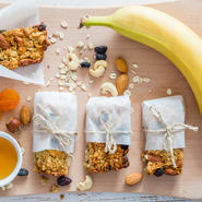 Granola Bar and Fruit