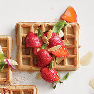 Berries and Browned Butter Waffle