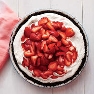 Deep-Dish Strawberry Ice Dream Pie