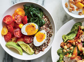 Quinoa Breakfast Bowl with 6-Minute Egg