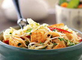 Curried Noodles with Tofu - Recipes