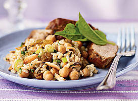 Wild Rice and Barley Salad Recipe
