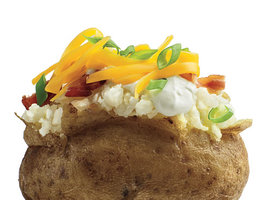 Low-Calorie Loaded Baked Potato Toppings