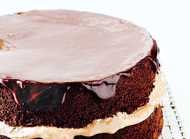 Chocolate-Orange Layer Cake Recipes