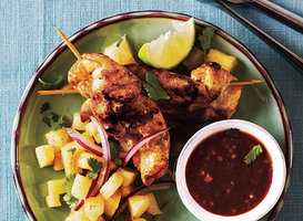 Pineapple Chicken Satay Recipe