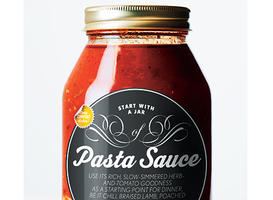 Start with a Jar of Pasta Sauce