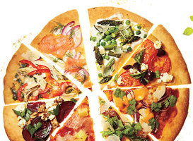 200-Calorie Pizza Slices