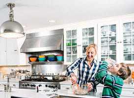 Kitchen Redo: Family Fun and Function