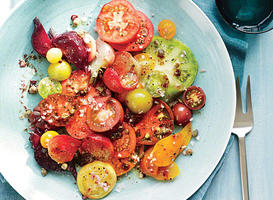 Heirloom Tomato and Beet Salad