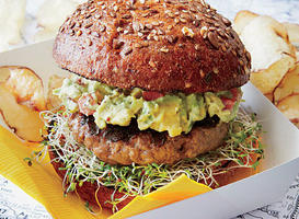 Healthy Grilled Burgers
