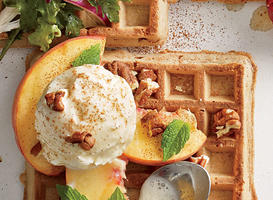 250-Calorie Waffle Toppings