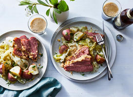 Corned Beef and Cabbage Dinner Recipe