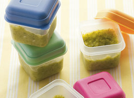 Homemade Baby Food Storage