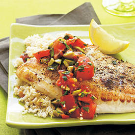 how to cook flounder healthy