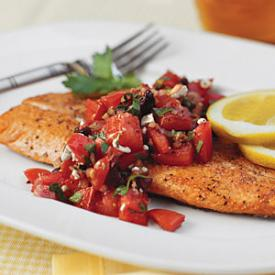 Image gallery healthy quick fish dinners for Healthy fish dinner