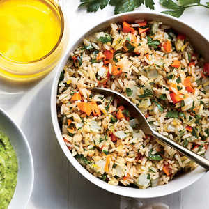 How to Make Parslied Brown Rice Pilaf
