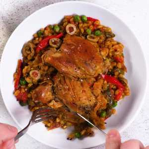 How to Make One Pot Chicken with Farro