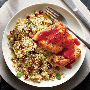 How to Make Pomegranate-Glazed Chicken LIVE
