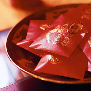 Ways to Greet the New Year - Chinese Red Money Bags