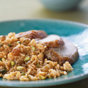 Spiced Brown Basmati Pilaf