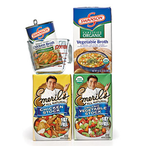 Taste Test: Stocks and Broths