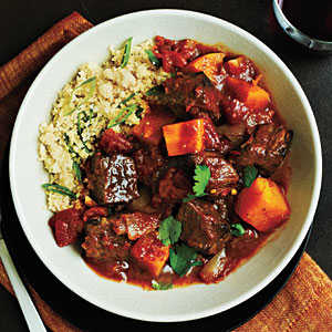 Beef Tagine with Butternut Squash