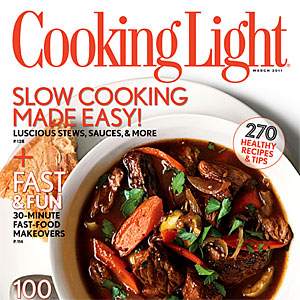 Cooking Light March 2011 Cover