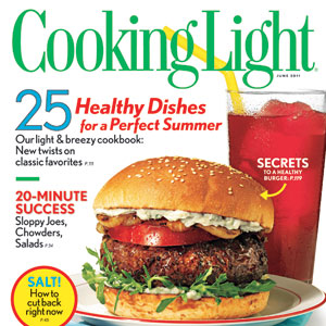 Cooking Light June 2011 Cover