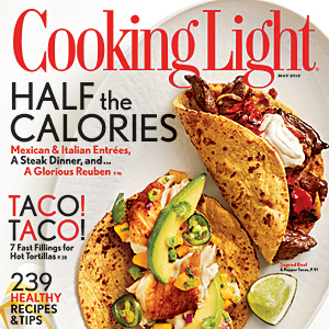 Cooking Light May 2012 Cover