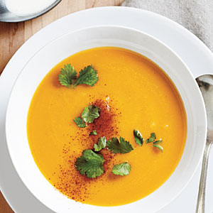 Butternut Soup with Coconut Milk