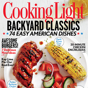 Cooking Light July 2013 Cover
