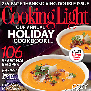Cooking Light November 2013 Cover