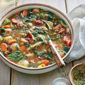 How to Make Slow Cooker Chicken, Bacon, and Potato Soup