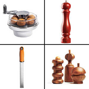 Our Favorite: Graters, Grinders, and Peelers